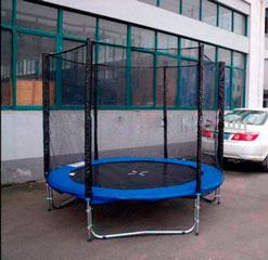 Cama elástica 2,40 metros de diámetro, con red de protección y escalera incluida