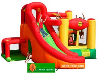Nuevo Centro de juegos-Hinchable HappyHop Play center Flypy