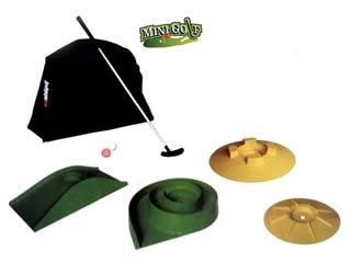 Juego profesional de Minigolf kit muy completo