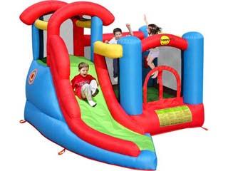 Castillo Hinchable Centro de juegos Happy Hop con tobogán  (solo para uso particular)