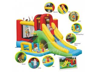 Castillo Hinchable Gran Aventura Combo Play Center 8x1 (uso particular)