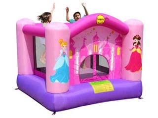 Castillo Hinchable happy hop Princesitas 5,8 m2
