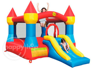 Ultimas unidades Mini Castillo Hinchable Happyhop  Mini xl con tobogán