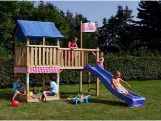 Parque Infantil de Exterior Princesas con tobogán